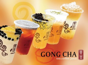 Gong Cha beverages