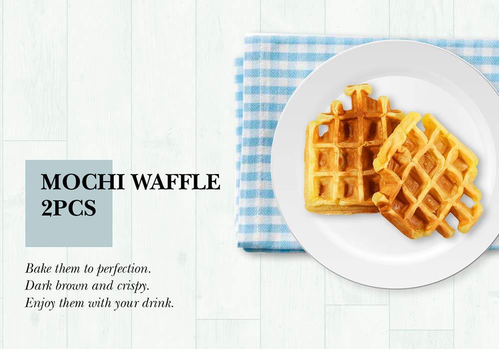 Mochi Waffle - 2 Pieces.