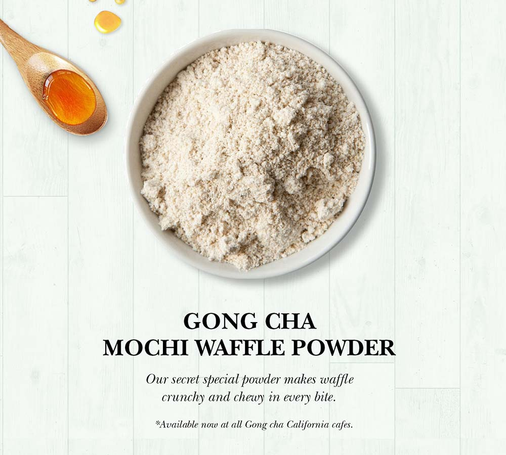 Gong cha Mochi Waffle Powder