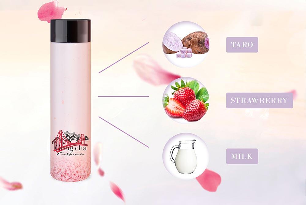 Sakura and Neroli - Taro, Strawberry, Milk