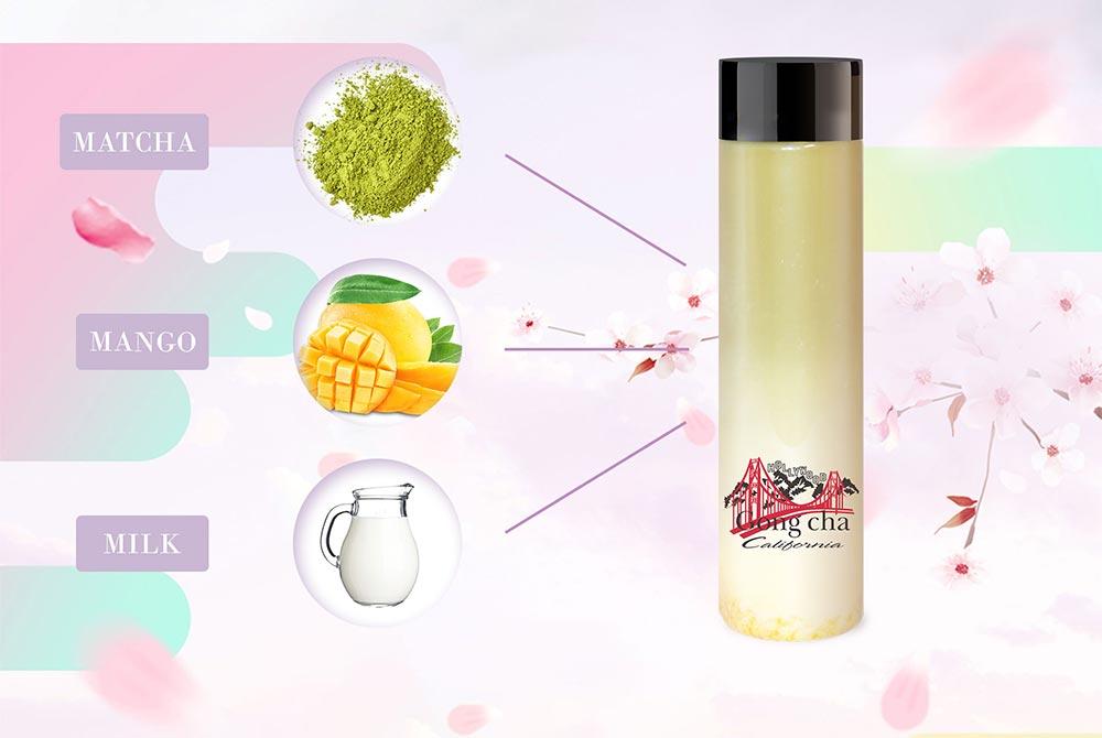 Sakura and Neroli - Matcha, Mango, Milk