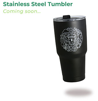 Stainless Steel Tumbler - Coming soon...
