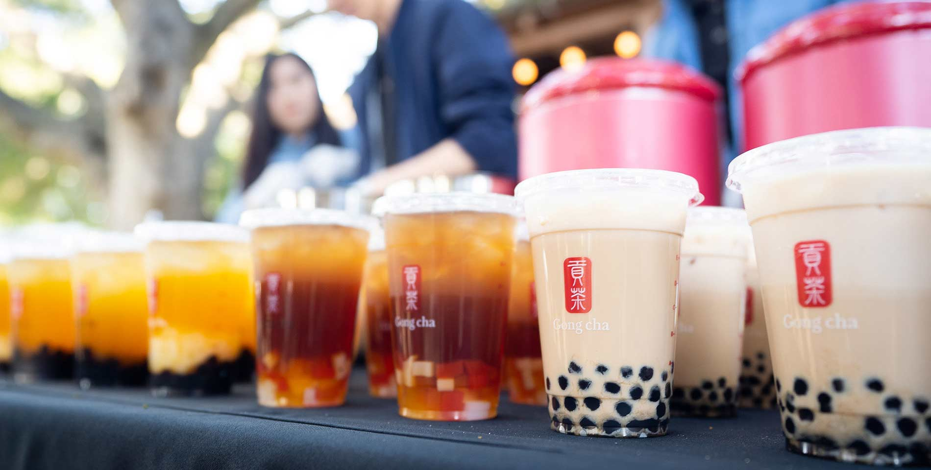 Catering with Gong cha
