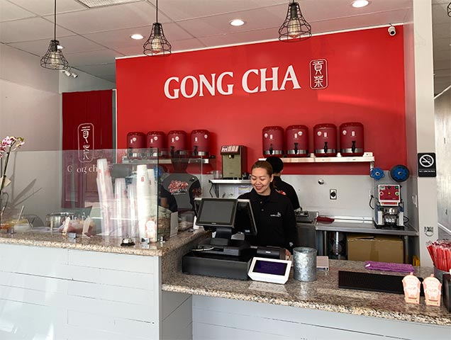 Gong cha Blossom Hill Cafe Interior