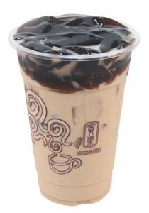 Milk Tea with Herbal Jelly