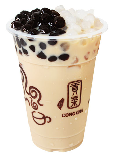 QQ Panda Milk Tea