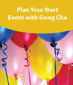 Plan Your Next Event with Gong Cha