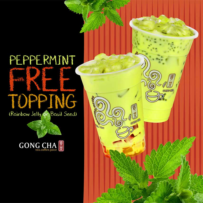 Peppermint with Free Topping
