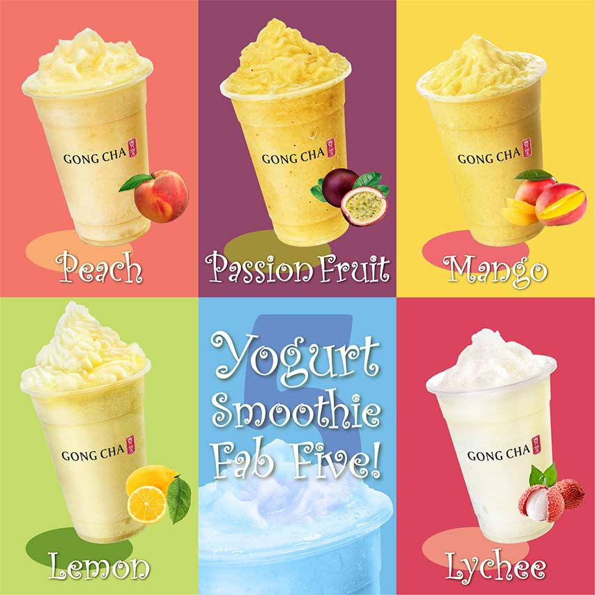 Yogurt Smoothie Fab Five!