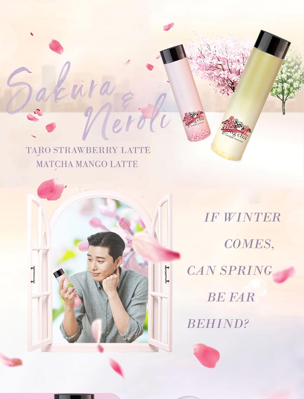 Sakura & Neroli - If winter comes, can spring be far behind?