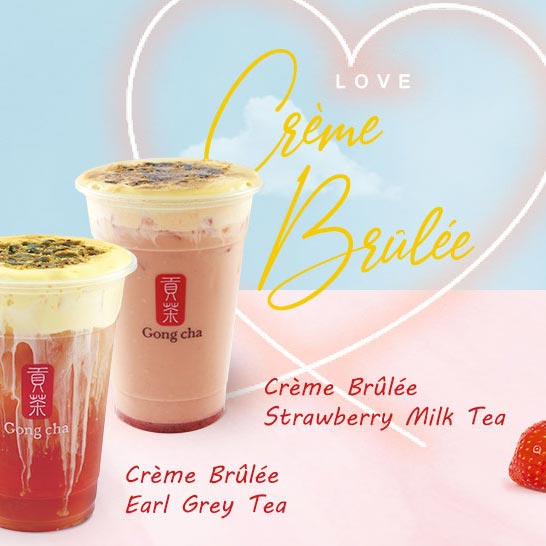 Creme Brulee Teas and Smoothie
