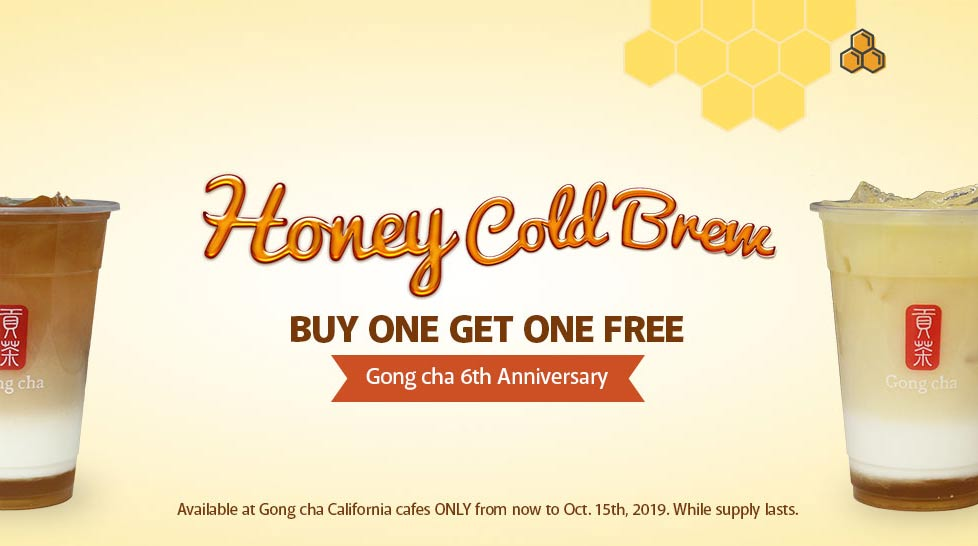 Honey Cold Brew - Buy One, Get One Free