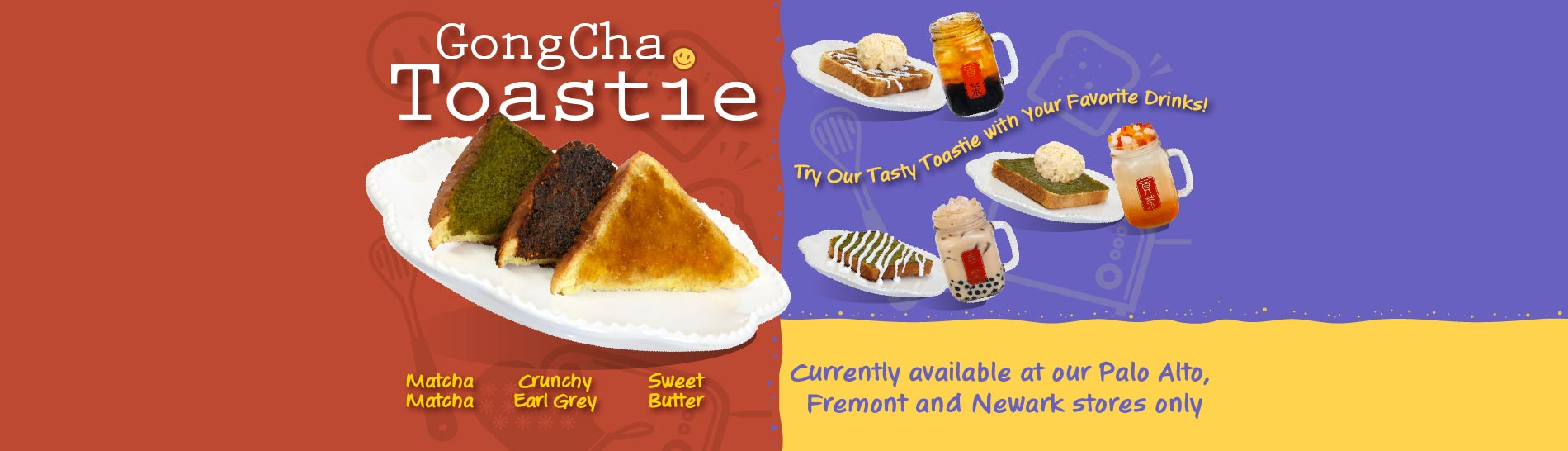 Gong Cha Toastie
