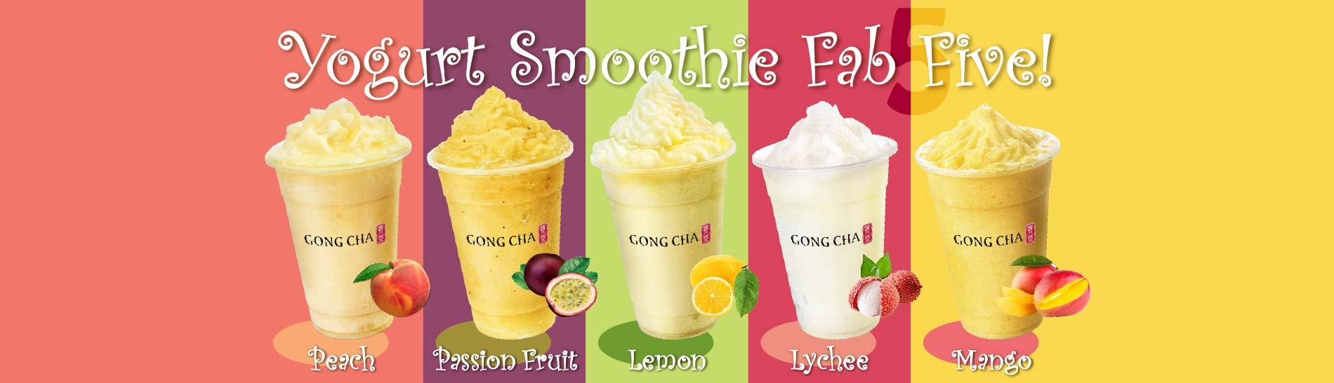 Yogurt Smoothie Series